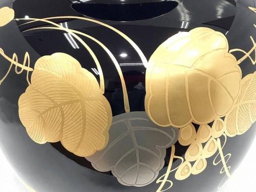 大倉陶園の瑠璃金蝕