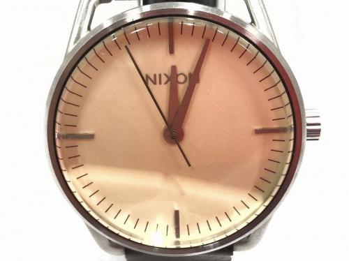 ニクソンの腕時計 買取