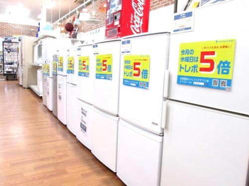蘇我 リサイクルの中古冷蔵庫