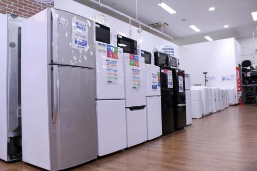 洗濯機のテレビ