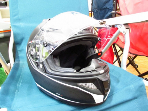 中古のヘルメット