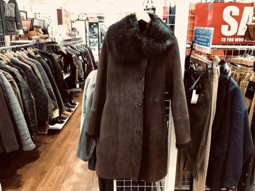 コートのラムスキン