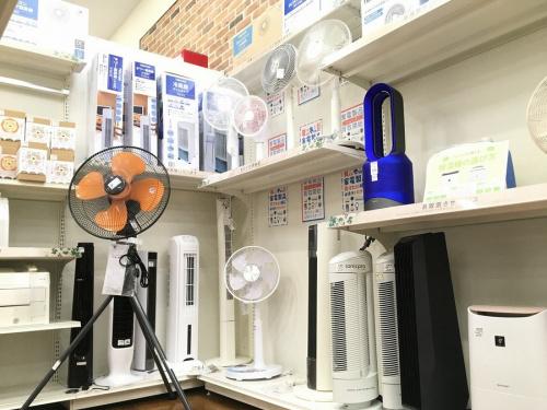 除湿器の扇風機