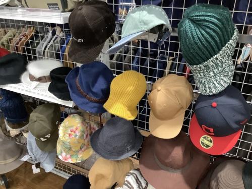 中古の帽子