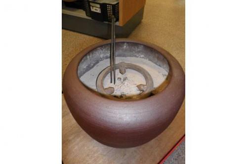 火鉢の茶釜