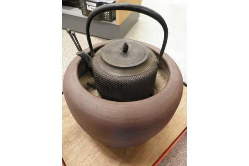 茶釜のインテリア
