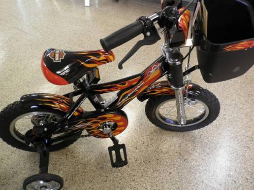 ハーレーダビッドソンの子供自転車