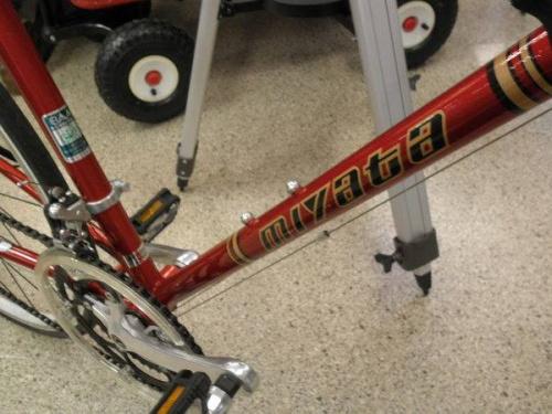 ミヤタサイクルのロードバイク