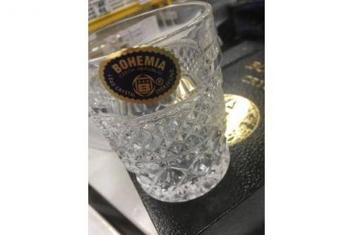 BOHEMIAのグラス