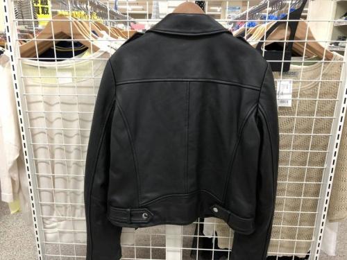 ジャケットのラムレザージャケット