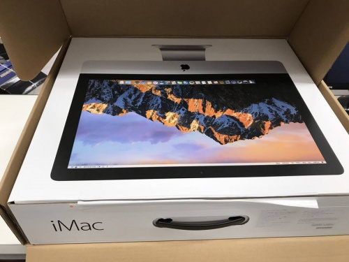 デスクトップのiMac