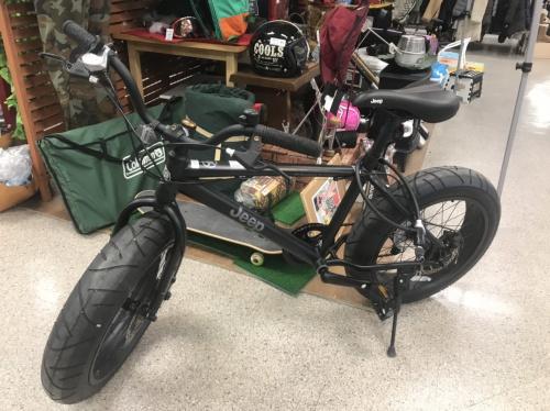 スポーツ用品のファットバイク