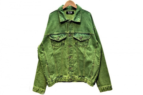 メンズファッションのデニムジャケット