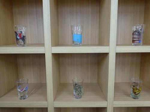 グラスのAnthropologie