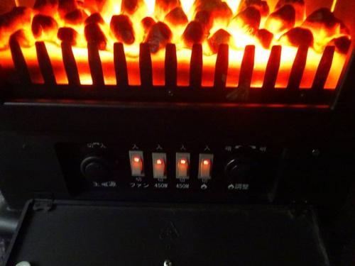 季節家電の電気ヒーター