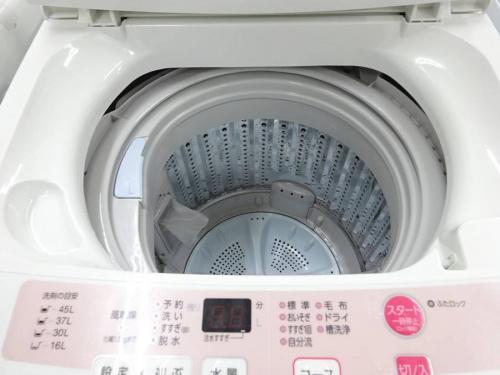 洗濯機の新生活