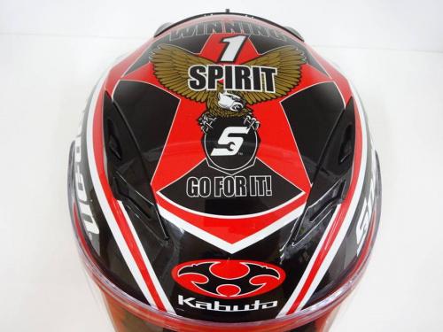 KABUTOのヘルメット