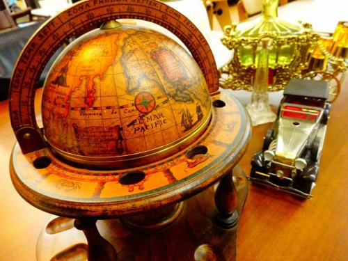 雑貨の地球儀