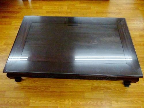紫檀の座卓