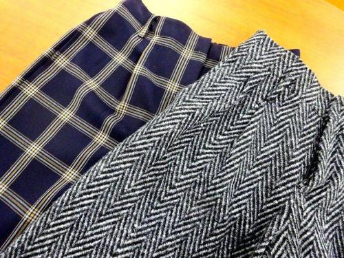 スニーカーの冬物衣類