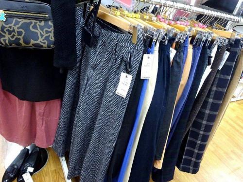 冬物衣類の関西