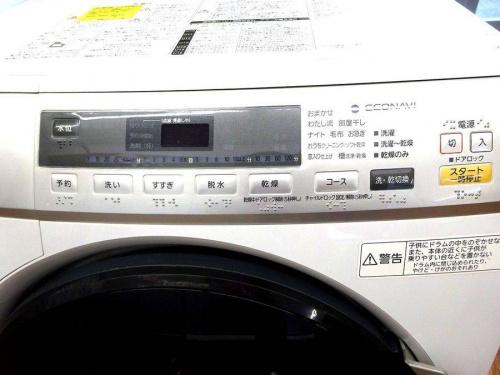 パナソニックの洗濯