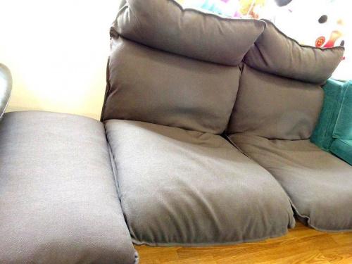 家具のリクライニングソファ