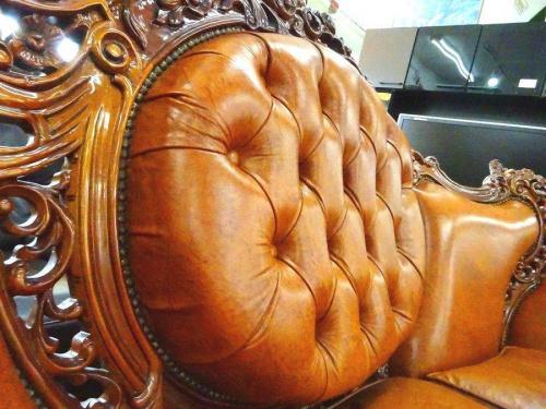 ヴィクトリアン チェスターフィールドソファーのリサイクルショップ 大阪