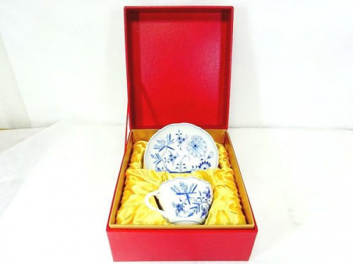大阪 中古 食器のマイセン カップ&ソーサー