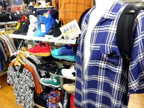 メンズファッションの古着 買取 大阪
