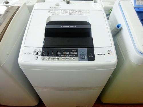HITACHIの中古洗濯機
