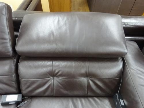ソファの電動リクライニングソファー