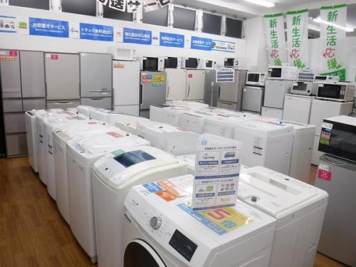 生活家電の中古洗濯機 八尾