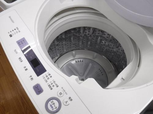 SHARP 洗濯機の洗濯機 中古 八尾