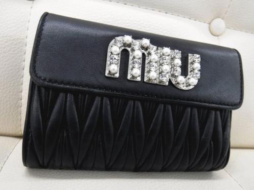 miumiuの財布 買取