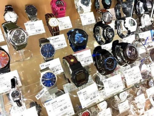 腕時計 中古の買取 八尾