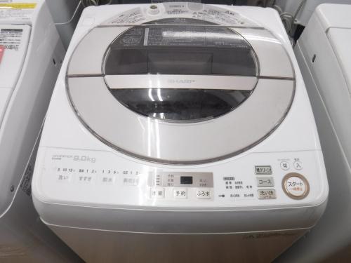 SHARP HITACHIの冷蔵庫 洗濯機