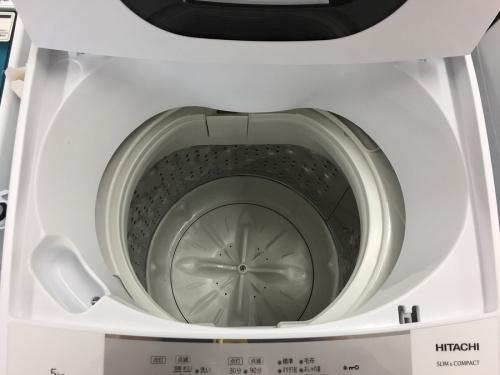 全自動洗濯機 中古のHITACHI 洗濯機