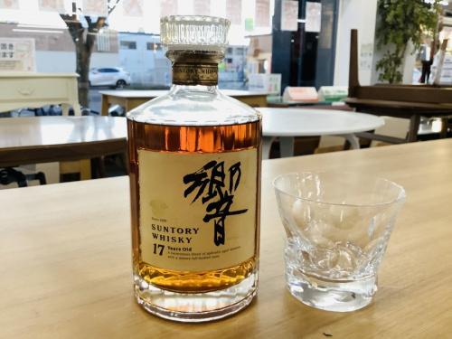 ウィスキー 買取 大阪の響 17年