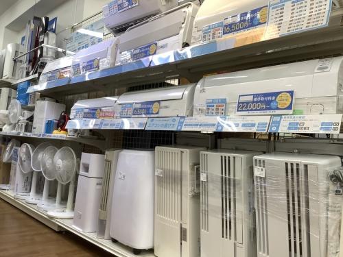 季節家電 夏物家電の扇風機 買取 大阪