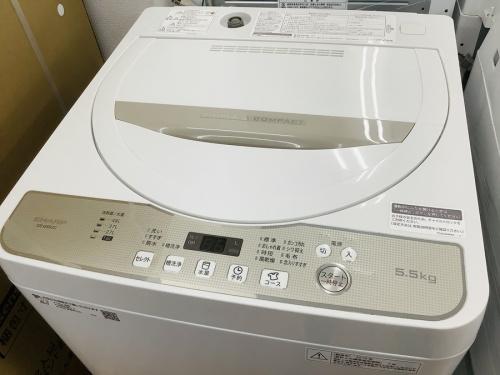 生活家電 買取 洗濯機のSHARP シャープ