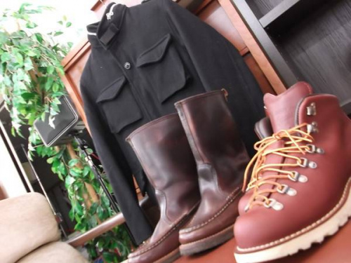 DANNERのRUSSELL MOCCASIN