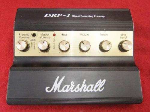 Marshallのプリアンプ