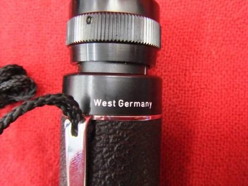 カールツァイスのドイツ製