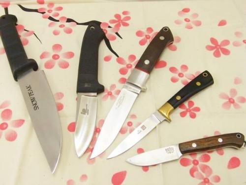 フォールディングナイフのアウトドア