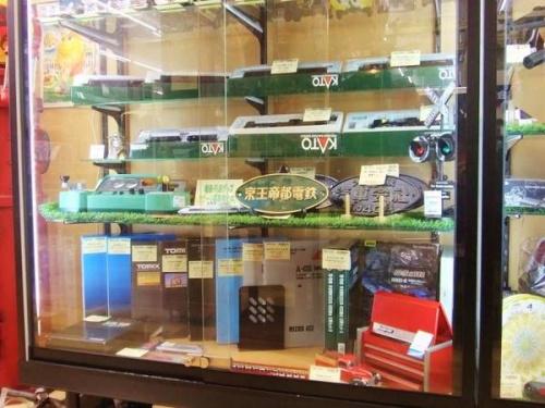 電車の鉄道模型