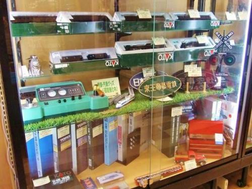 蒸気機関車の鉄道模型