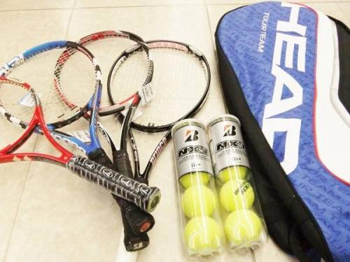 スポーツ・アウトドアのテニスラケットバッグ