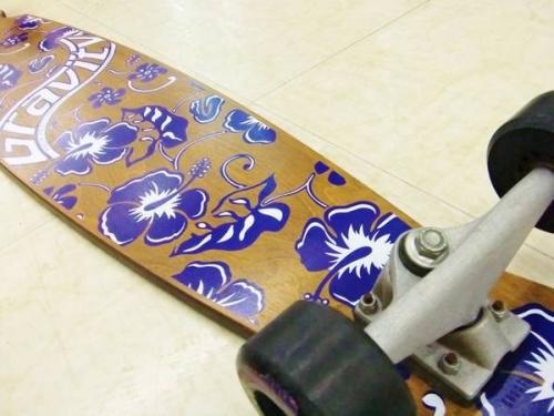 スケートボードのGravity