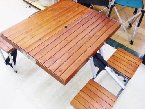 スポーツ・アウトドアのピクニックテーブル